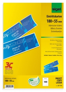 image about Printable Tickets With Stubs titled Admission tickets with stubs through Sigel