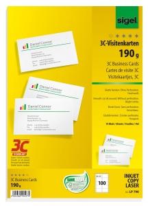 Visitenkarten 3c Von Sigel