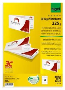 Klapp Visitenkarten 3c Von Sigel