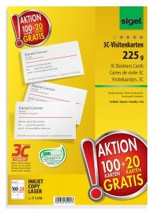 Mehrinhalt Aktion Visitenkarten 3c Von Sigel